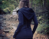 The Planchette Corset Bamboo Hoodie
