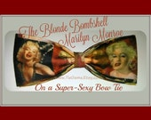 The Blonde Bombshell: Marilyn Monroe on the Sexiest of Bow Ties - Shipping NEVER M0RE THAN 1.49 at TieGame