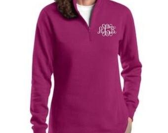 Monogram Shirts, Monogram Sweatshirt, Monogrammed Shirts, Monogram Pullover, Sweatshirt, Zip Pullover, Zip Pullover Women's, Gift Ideas