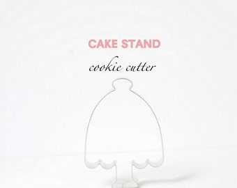 Cake Stand Cookie Cutter (Stainless Steel)