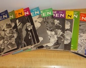 The Home Garden 1951 Issues - Full Year Including Christmas December Issue
