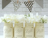 Annie Sloan Chalk Paint Mason Jars