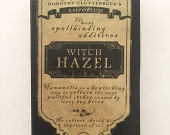 Witch Hazel Altered Matchbox