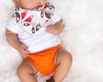 Baby Bandana Bib - Baby Bandana - Drool Bib