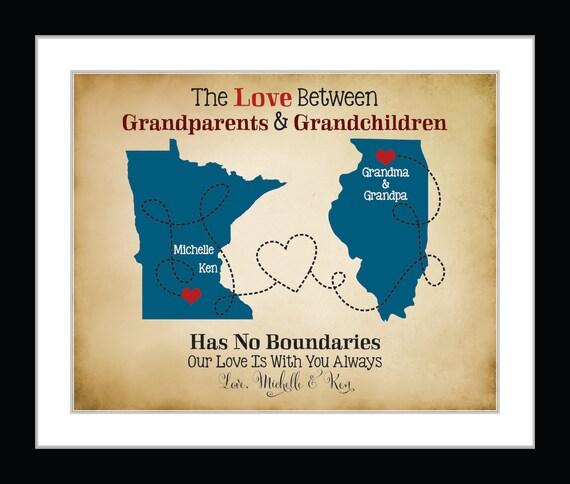 Birthday gift for grandma christmas gift for grandparents for Good birthday presents for grandma