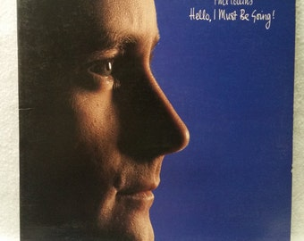 Phil Collins Record - Hello! I Must Be Going - Vintage Vinyl Album - 1982 LP