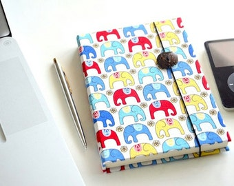 Fabric Covered Notebook with Lined Pages Travel Memory Book Daily Planner Writing Journal Boho Personalized Diary Inspirational Gift LK8