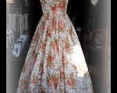 Laura Ashley Floral Prom/Bridesmaid Dress