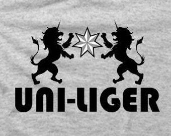 Uni-Liger - Heather Gray Tshirt FREE SHIPPING