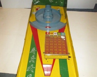 Marx-a-Score Skee Ball Game,