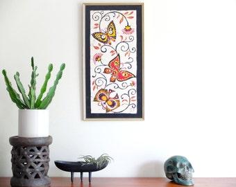 grande tapisserie murale sign e v palomino en par lestrictmaximum. Black Bedroom Furniture Sets. Home Design Ideas
