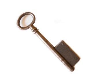 French Antique Key Skeleton Key Antique Key Form 1900-1930s