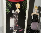 Solo in the Spotlight is 2nd in the Barbie series, dated 1995. Barbie Christmas Ornment Hallmark