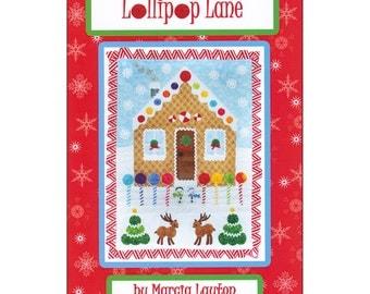 Pattern - Lollipop Lane by Marcia Layton Designs - Quilt pattern Wallhanging Pattern