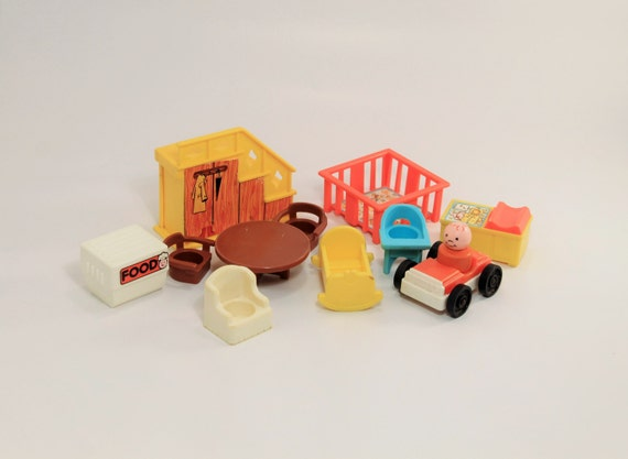 Fisher Price Furniture Vintage Fisher Price Little People