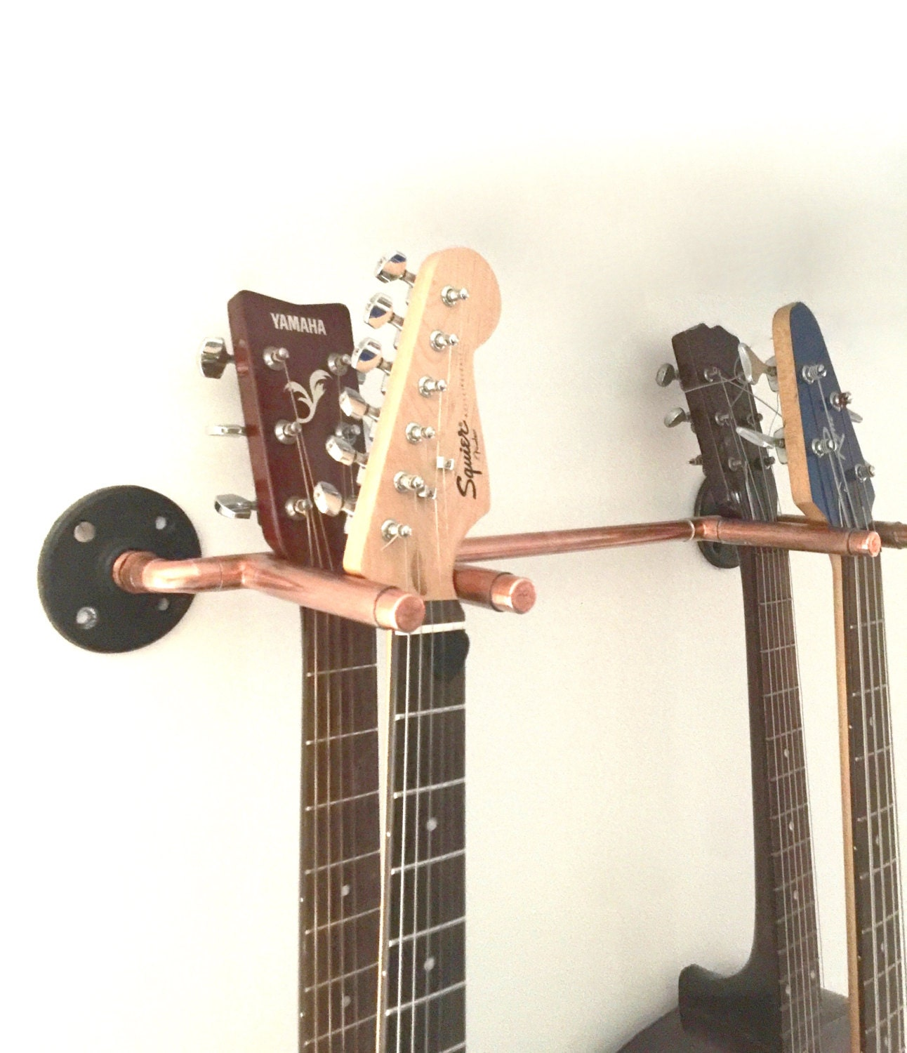 Guitar Hanger Wall Rack Industrial Design Electric