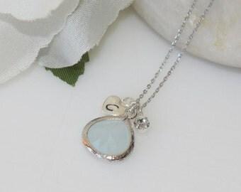 Tiny Charms,Simple and Elegant Jewelry,  Bridesmaid Jewelry, Wedding Jewelry, Everyday Wear, Personalized Initial