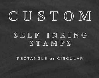 Self Inking Stamps, Custom Address Stamps, Personalized Wedding Stamps, Calligraphy Stamps