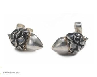 Acorn Stud Earrings