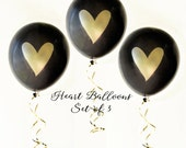 Black & Gold Balloons, Go...