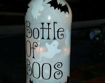 Bottle of BOOOS