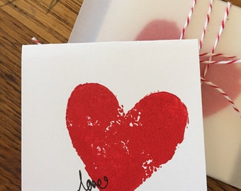share the love mini cards set of 6