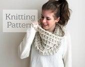 Knitting Pattern Dameron Cowl Instant Download