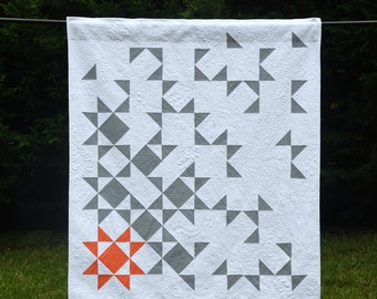 State of Being - digital quilt pattern - a modern lap sized quilt pattern