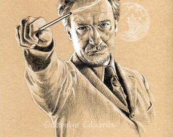 HARRY POTTER - Professor Lupin A4 Art Print (29.7 x 42cm)