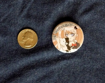 Dangan Ronpan - Junko and Monobear Button