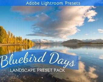 Bluebird Days: Lightroom Preset Pack