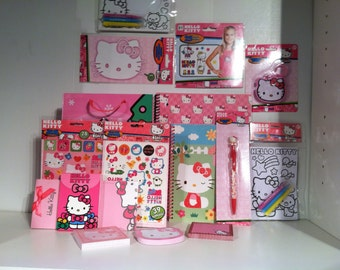 Hello Kitty Gift Bag Full of Hello Kitty Treasures! - 30 pieces/items