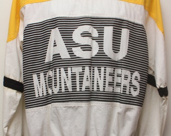 "90's Vintage ""APPALACHIAN STATE UNIVERSITY Mountaineers"" College Tshirt Sz: Medium (Men's Exclusive)"