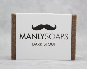 DARK STOUT BEER soap
