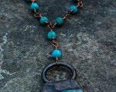 ABRACADABRA Black Label Solar Quartz Necklace