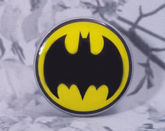 2 Inch Batman Dresser Knobs - Super Hero Knobs - Batman Knobs - Prices for One Knob