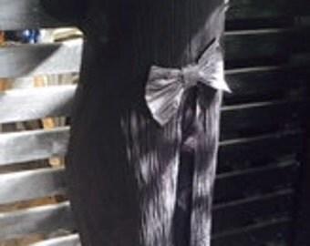 Black Linen Vest - Designer Tunic