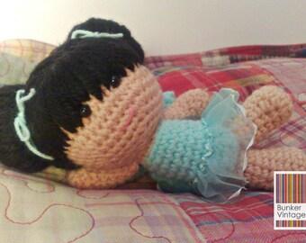 Amigurumi doll - 'Isa'- Fairy - Crochet doll - Crocheted doll - Amigurumi Fairy doll - Fairy crochet doll - Crochet Amigurumi doll