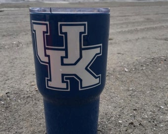 UK - University of Kentucky - Yeti or HOGG tumblers, coasters, and ramblers