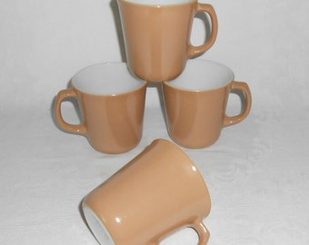Corning Mugs in Almond Mocha (4)