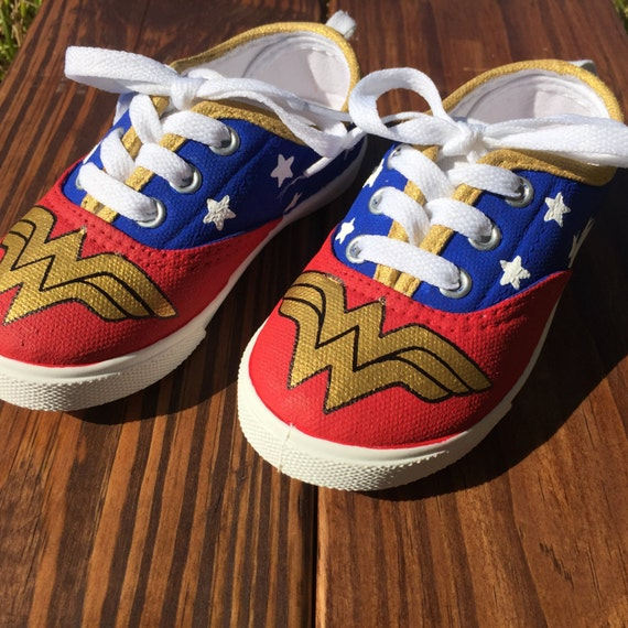 Kid S Wonder Woman Shoes
