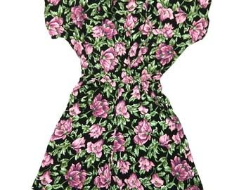 Vintage Floral Romper