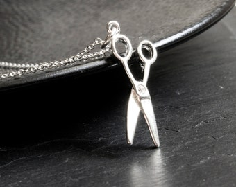 Scissor necklace 925 Silver limited