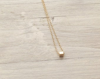 minimal necklace,dainty necklace,simple necklace,delicate necklace,gold necklace,layering necklace,gift for her,minimalist jewelry, A193