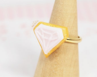 Pink Icing Cookie Ring