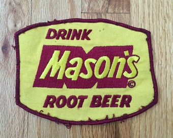Vintage Patch - Mason's Root Beer