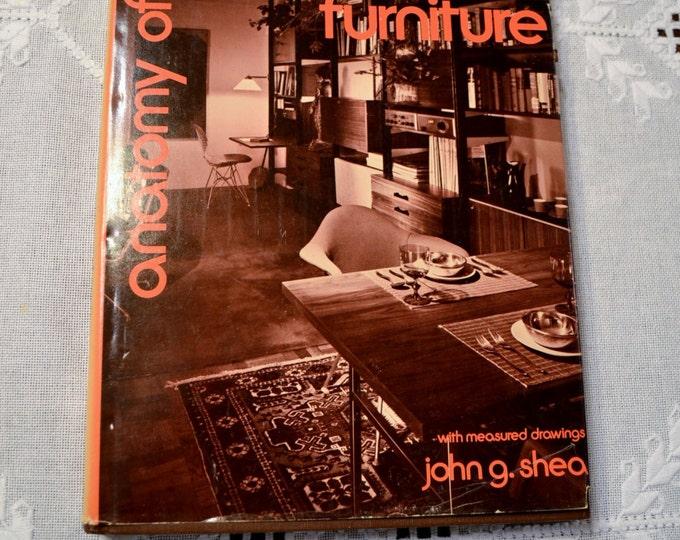 Anatomy of Contemporary Furniture John G Shea Vintage Book PanchosPorch