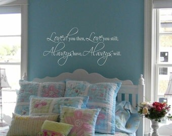 Bedroom Wall Decal Etsy - Wall decals bedroom
