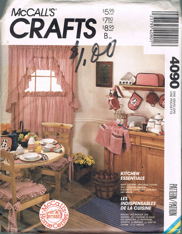 Home Decor Pattern Cow Theme Kitchen Essentials Curtains