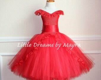 Princess Elena of Avalor Coronation inspired tutu dress, Latin princess inspired birthday dress size nb to 14years
